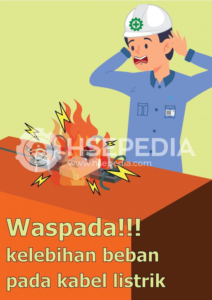Contoh Poster K3 Di Tempat Kerja Hsepedia Indonesia